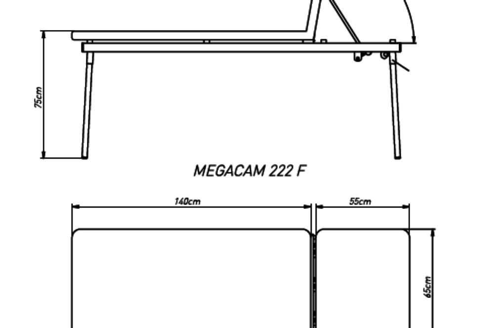 Camilla Fija Megacam 222F con orificio facial
